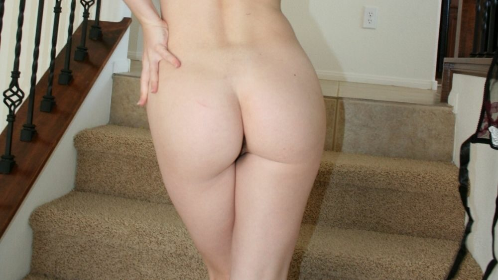 sissy showing her butt